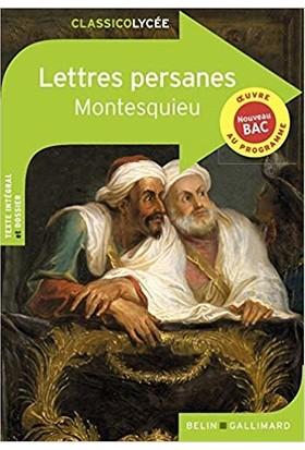 Lettres Persanes N.e.