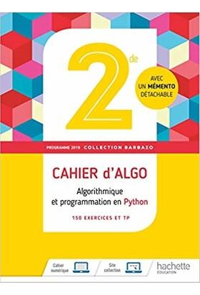 Mathematiques 2nde Cahier D'algo