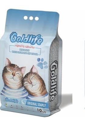 Goldlife Premium Marsilya Sabunlu Kedi Kumu İnce Taneli 10 Lt
