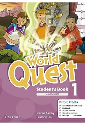 World Quest: 1: Student's Book Pack Workbook