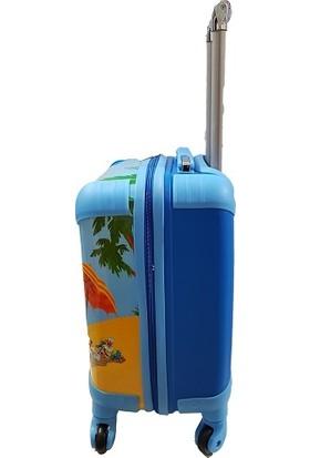 Laguna Minnie Mickey Mouse Kız - Erkek Çocuk Bavul - Valiz