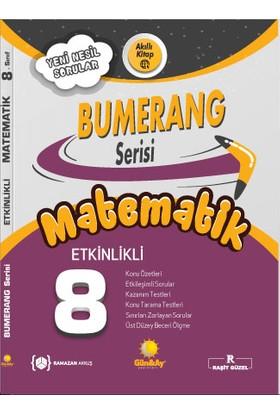 Günay Yayınları 8.Sınıf Bumerang Etkinlikli Kitap Matematik