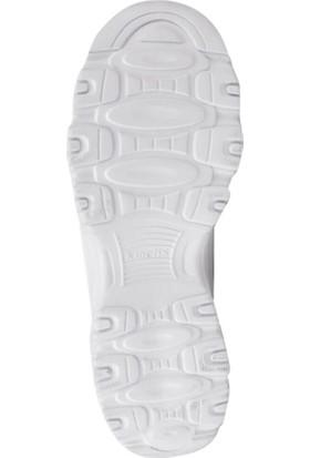 Kinetix Kadın Günlük Ayakkabı 100417678 Beyaz 9F Peri W 9Pr Beyaz/Gumus