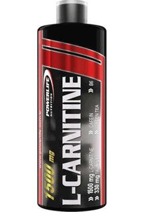 Powerlife Thermo L-Karnitin Likit 1500 mg 1000 ml Carnitin Sıvı