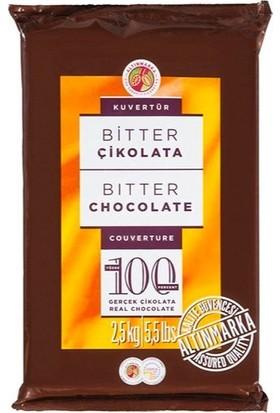Altınmarka Bitter Kuvertür Alt 150 %42 Kakao 2.5 kg