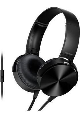 Maiz MDR-XB450AP Extra Bass Mikrofonlu Kulaklık Siyah