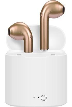 Tws i7s Mini Kablosuz Bluetooth Kulaklık - Gold