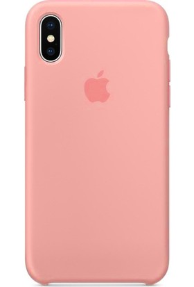 Deer Case Apple iPhone XR Silikon Kılıf Pembe