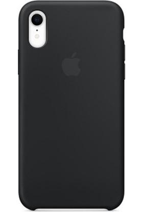 Deer Case Apple iPhone XR Silikon Kılıf Siyah