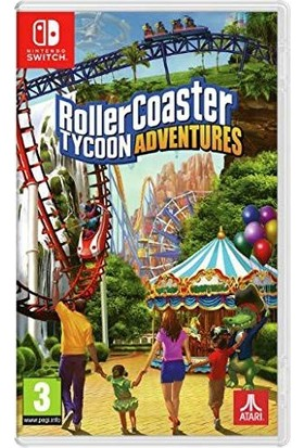 Rollercoaster Tycoon Adventures Nintendo Switch Oyun