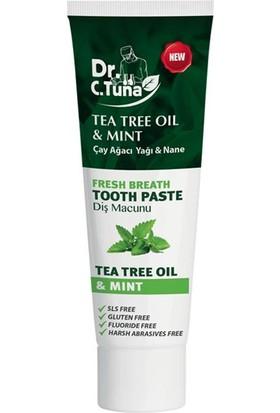 Farmasi Dr.c.tuna Çay Ağacı ve Naneli Diş Macunu 112 G-1113527