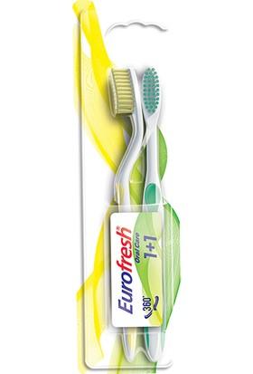 Farmasi Eurofresh 2li Diş Fırçası Sarı ve YEŞIL-9700789