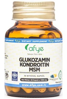 Afye Glukozamin Kondroitin Msm 50 Kapsül 1000 Mg