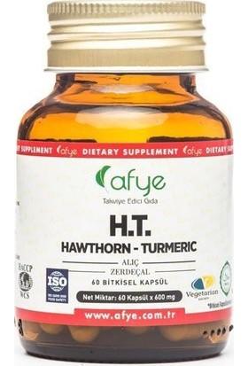 Afye Ht Hawthorn Turmeric 60 Kapsül 600 Mg
