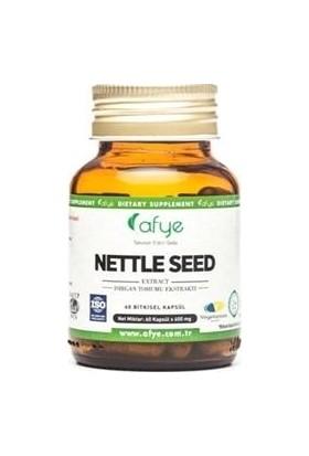 Afye Nettle Seed 60 Kapsül Isırgan Tohumu Ekstraktı 600 Mg