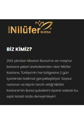 Nilüfer Kestane Şekeri gold (Duble) 4x Şerbetli Cam Kavanoz