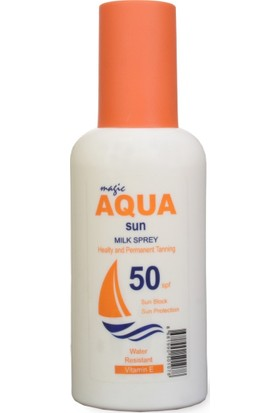 Aqua Sun Magic Aqua Güneş Kremi 50 Spf 200 ml
