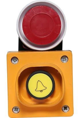 Sinaider Alarm Seti 1'li Alarm Seti, Pilli Siren, 9 Volt