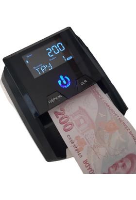 Double Power 2258 Sahte Para kontrol ve Tespit Para Sayma Makinesi - Tl / Euro