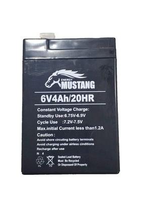 Energy Akü Mustang 6 Volt 4 Amper