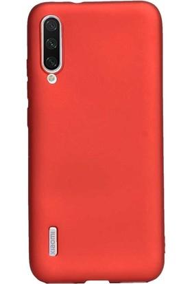 Gpack Xiaomi Mi A3 Kılıf Premier Silikon Esnek Arka Koruma Kırmızı