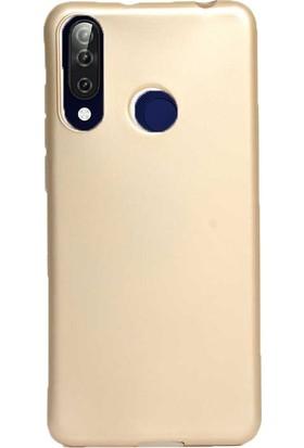 Gpack Casper Via F3 Kılıf Premier Silikon Esnek Arka Koruma Gold