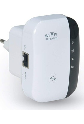 Gomax Access Point Wi-Fi Repeater Kablosuz Sinyal Güçlendirici 300MBPS
