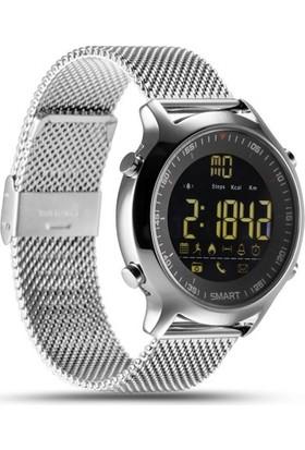 Gomax EX18 Pilli Akıllı Saat Gümüş