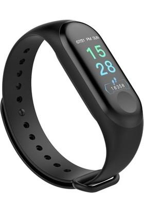 Gomax Watch M3 Plus Akıllı Saat Bileklik Siyah