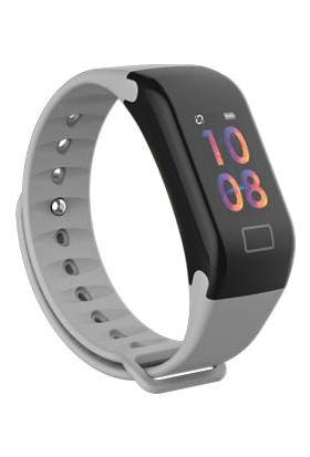 Gomax Watch X5 Akıllı Saat Bileklik Gri