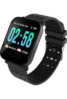 Gomax Watch X6 Akıllı Saat Bileklik Siyah
