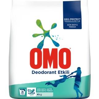 Omo Toz Deterjan Deodorant Etkili 4 kg