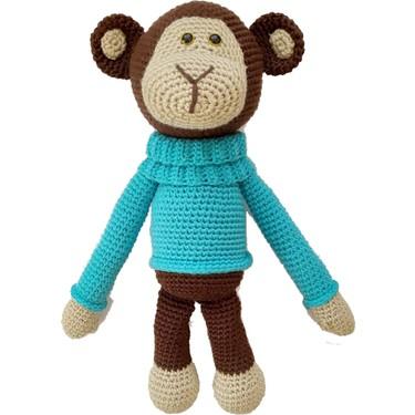 Amigurumi maymun yapımı örgü oyuncak maymun yapılışı amigurumi maymun saç  örme yapımı -11 - YouTube   375x375