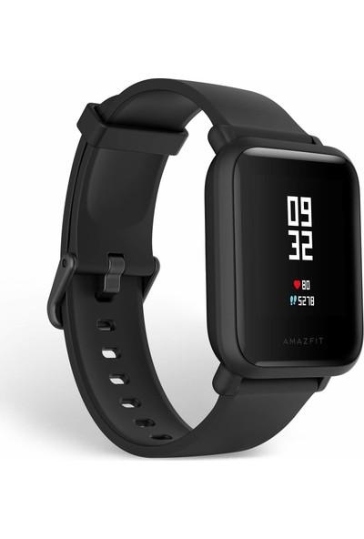 Xiaomi Amazfit Bip Lite Bluetooth Nabız Akıllı Saat - Global Versiyon - Siyah - Distribütör Garantili