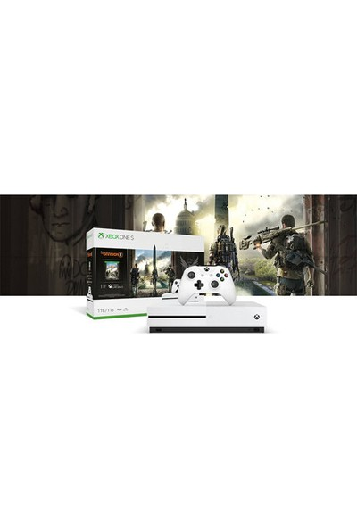 Xbox One S 1 TB + Tom Clancy's The Division 2 Oyunu 234-00881