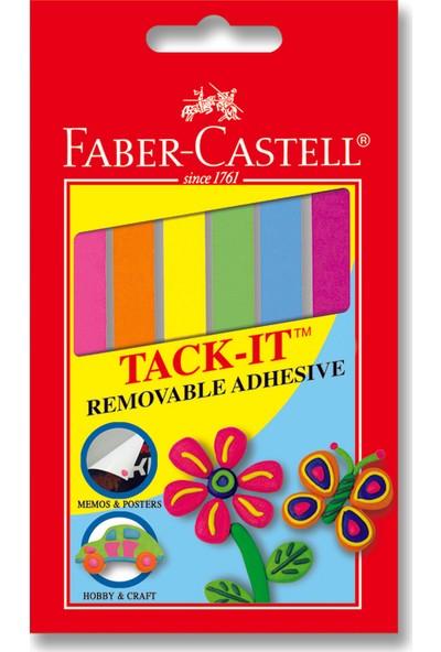 Faber-Castell Patafix Renkli Hamur Yapıştırıcı 90 Adet