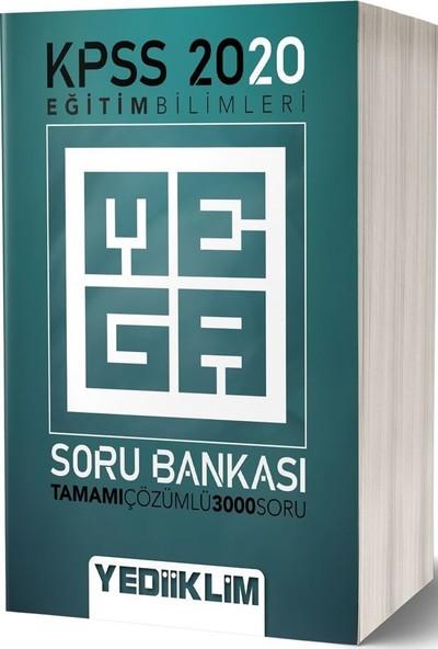 Yediiklim Yayınları 2020 Eğitim Bilimleri Tamamı Çözümlü Mega Soru Bankası