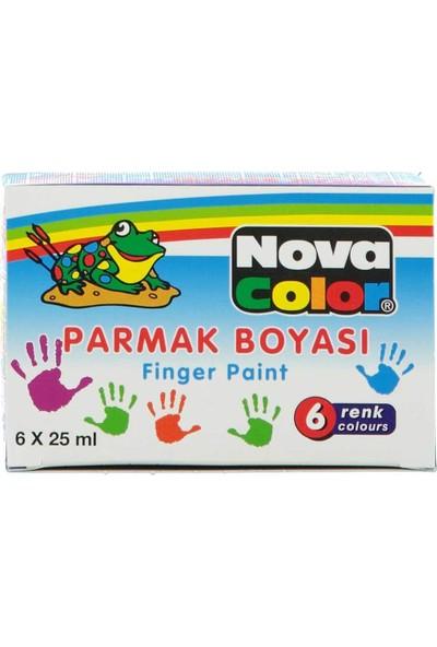 Nova Color Parmak Boyası 25Cc 6'Lı Nc-138