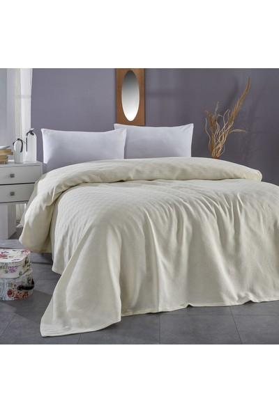 Komfort Home Tek Kişilik Çok Amaçlı %100 Pamuklu Pike 160 x 230 cm