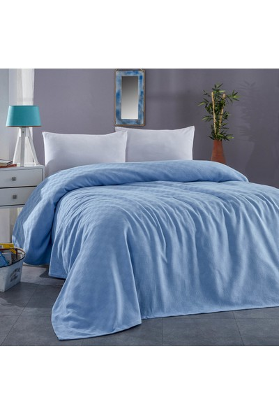 Komfort Home Çift Kişilik Çok Amaçlı %100 Pamuklu Pike 200 x 230 cm