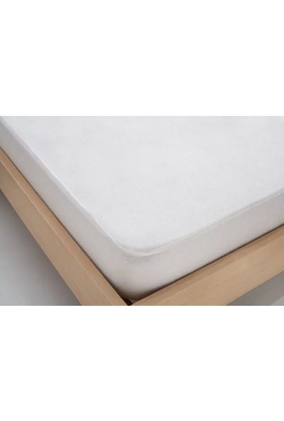 Komfort Çift Kişilik Sıvı Geçirmez Pamuklu Fitted Alez 140 x 200 cm