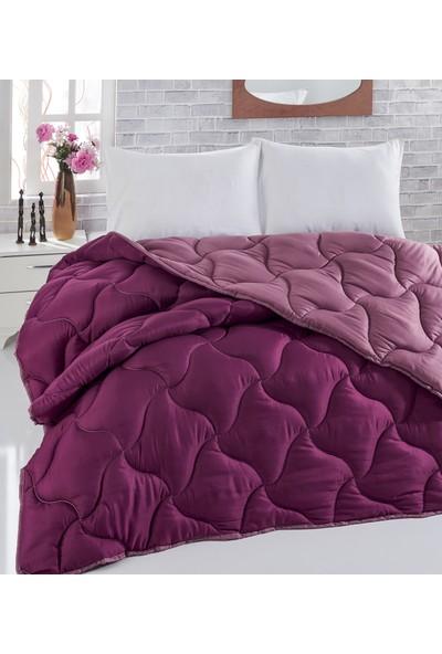 Komfort Home Renkli Tek Kişilik Microfiber Yorgan +1 Yastık