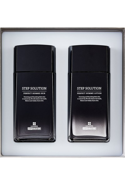 Leaders Stepsolution Perfect Homme Skin Care Set 260ml