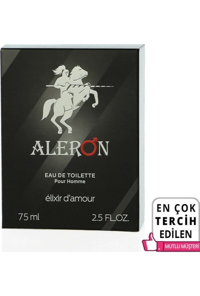 Aleron Feromonlu 75 ml Erkek Parfüm