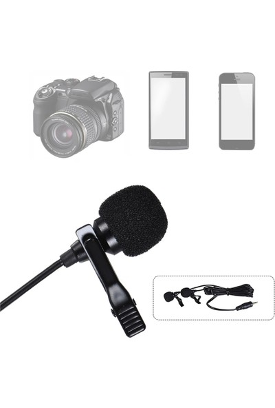 Arimic Iphone Telefon Için Arimic Ikili Kablolu Youtuber Yaka Mikrofonu 6m