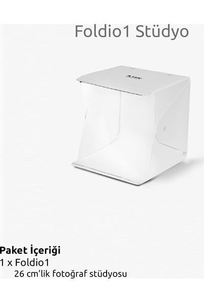 Foldio 1 Akıllı Stüdyo 26CM Işıklı Ürün Çekim Çadırı