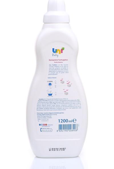 Uni Baby Pudra Kokulu Konstantre Yumuşatıcı 1,2 lt
