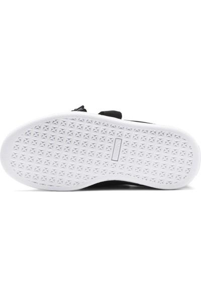 Puma Çocuk Basket Heart Patent PS Spor Ayakkabı 36335201
