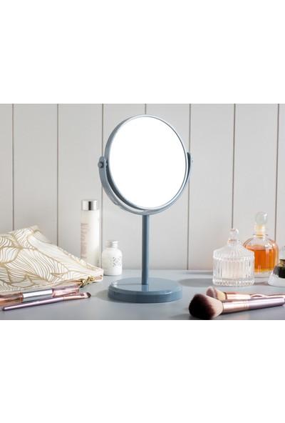 Madame Coco Masa Aynası Çift Taraflı - İndigo