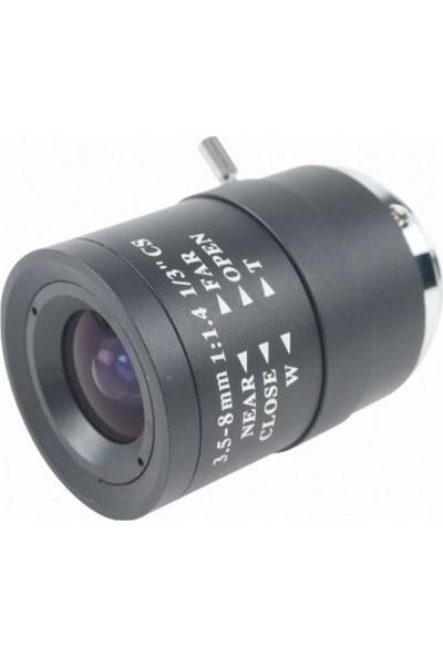 Elegance Mn358 Manuel İris Varifokal Lens